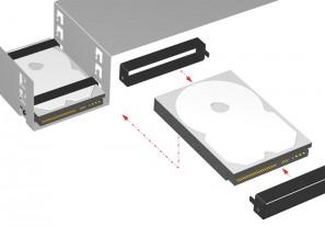 Hard-disk mounting