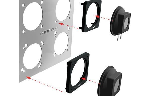 Speaker fasteners